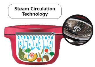 steam circulating technology