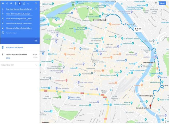 bilbao map