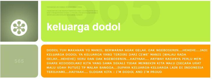 keluarga dodol